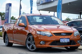 2010 Ford Falcon FG XR6 Turbo Ute Super Cab 50th Anniversary Orange 6 Speed Sports Automatic Utility.