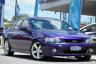 2003 Ford Falcon BA XR6 Turbo Mauve 4 Speed Sports Automatic Sedan.