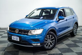 2016 Volkswagen Tiguan 5N MY17 110TSI DSG 2WD Comfortline Blue 6 Speed Sports Automatic Dual Clutch.