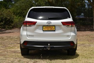 2018 Toyota Kluger GSU55R GX AWD White 8 Speed Sports Automatic Wagon