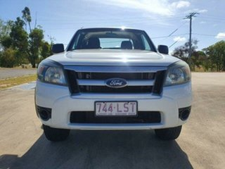 2009 Ford Ranger PK XL Hi-Rider Cool White 5 Speed Manual.