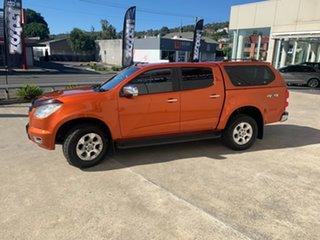 2015 Holden Colorado RG MY15 LTZ Crew Cab Orange 6 Speed Sports Automatic Utility