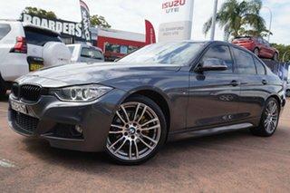2013 BMW 320d F30 MY14 Grey 8 Speed Automatic Sedan.