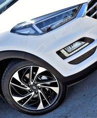 2020 Hyundai Tucson TL3 MY21 Highlander AWD Pure White 8 Speed Sports Automatic Wagon.