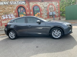 2015 Mazda 3 BM5478 Maxx SKYACTIV-Drive Grey/charcoal Cloth 6 Speed Sports Automatic Hatchback.