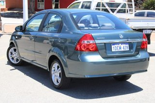 2009 Holden Barina TK MY10 Green 4 Speed Automatic Sedan