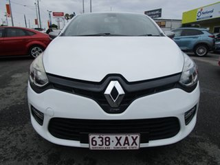 2014 Renault Clio IV B98 GT EDC White 6 Speed Sports Automatic Dual Clutch Hatchback