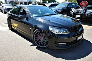 2015 Holden Commodore VF II MY16 SS Black 6 Speed Manual Sedan