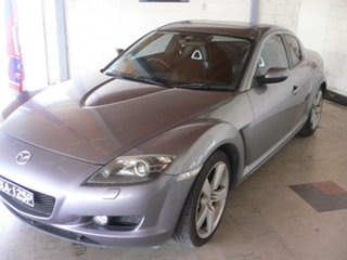 2004 Mazda RX-8 FE1031 Silver 6 Speed Manual Coupe.