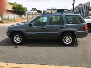 2003 Jeep Grand Cherokee WG MY2002 Laredo Blue 4 Speed Automatic Wagon
