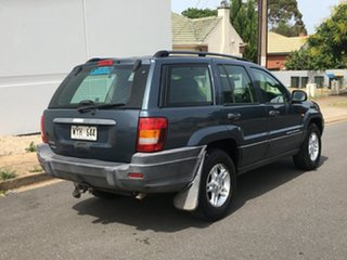 2003 Jeep Grand Cherokee WG MY2002 Laredo Blue 4 Speed Automatic Wagon.