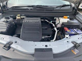 2012 Holden Captiva CG Series II MY12 5 Silver 6 Speed Manual Wagon