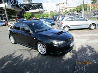 2007 Subaru Impreza MY07 WRX (AWD) Black 5 Speed Manual Hatchback.