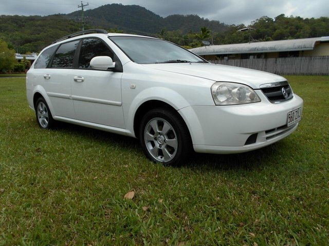 Used Holden Viva JF MY09 Bungalow, 2008 Holden Viva JF MY09 White 5 Speed Manual Wagon