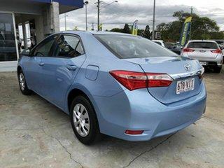 2014 Toyota Corolla ZRE172R Ascent S-CVT Blue 7 Speed Constant Variable Sedan.