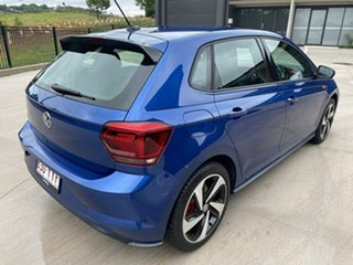2018 Volkswagen Polo AW MY19 GTI DSG Blue 6 Speed Sports Automatic Dual Clutch Hatchback.