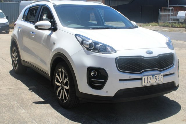 Used Kia Sportage QL MY16 SLi(AWD) West Footscray, 2016 Kia Sportage QL MY16 SLi(AWD) White 6 Speed Automatic Wagon