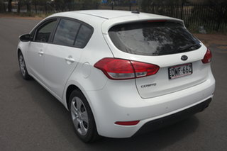 2017 Kia Cerato YD MY17 S White 6 Speed Sports Automatic Hatchback