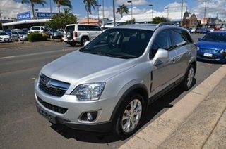 2014 Holden Captiva CG MY14 5 LTZ (AWD) Silver 6 Speed Automatic Wagon