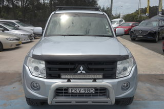 2013 Mitsubishi Pajero NW MY13 GLX-R Silver 5 Speed Sports Automatic Wagon.