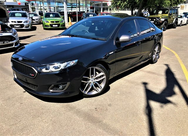 Used Ford Falcon FG X XR6 Turbo Seaford, 2015 Ford Falcon FG X XR6 Turbo Black 6 Speed Sports Automatic Sedan