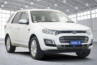 2016 Ford Territory SZ MkII TS Seq Sport Shift AWD White 6 Speed Sports Automatic Wagon.