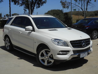 2012 Mercedes-Benz M-Class W166 ML250 BlueTEC 7G-Tronic + 7 Speed Sports Automatic Wagon.