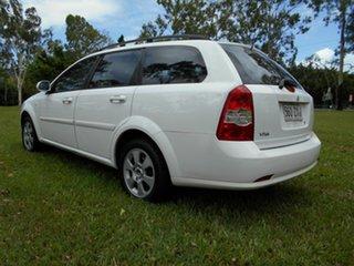 2008 Holden Viva JF MY09 White 5 Speed Manual Wagon.