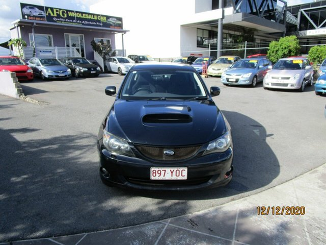 Used Subaru Impreza MY07 WRX (AWD) Coorparoo, 2007 Subaru Impreza MY07 WRX (AWD) Black 5 Speed Manual Hatchback