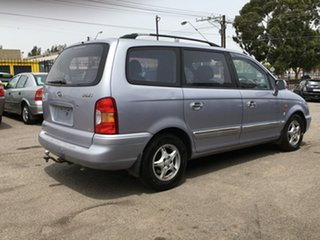2002 Hyundai Trajet FO GLS Silver 4 Speed Automatic Wagon.