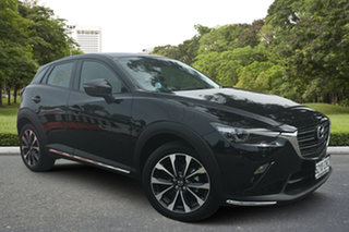2020 Mazda CX-3 DK2W7A sTouring SKYACTIV-Drive FWD Jet Black 6 Speed Sports Automatic Wagon.