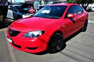 2005 Mazda 3 BK10F1 Neo Red 5 Speed Manual Hatchback.