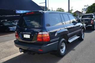1998 Toyota Landcruiser GXL (4x4) Blue 5 Speed Manual 4x4 Wagon.