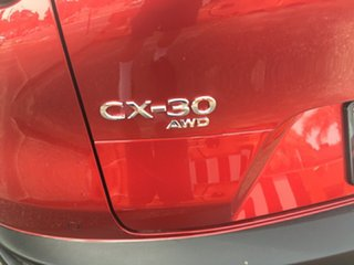 2020 Mazda CX-30 DM4WLA G25 SKYACTIV-Drive i-ACTIV AWD Touring Soul Red 6 Speed Sports Automatic