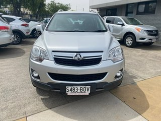 2012 Holden Captiva CG Series II MY12 5 Silver 6 Speed Manual Wagon