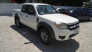 2011 Ford Ranger PK XL Crew Cab 4x2 Hi-Rider White 5 Speed Manual Utility.