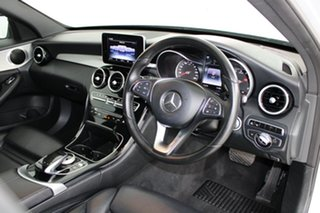 2015 Mercedes-Benz C-Class W205 806MY C200 7G-Tronic + Silver 7 Speed Sports Automatic Sedan