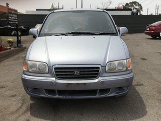 2002 Hyundai Trajet FO GLS Silver 4 Speed Automatic Wagon