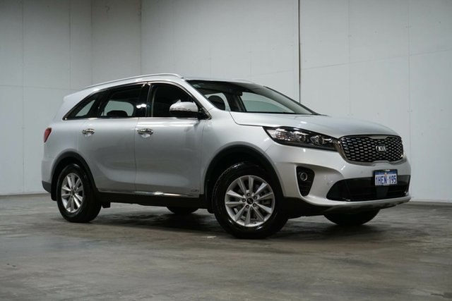 Used Kia Sorento UM MY20 Si AWD Welshpool, 2019 Kia Sorento UM MY20 Si AWD Silver 8 Speed Sports Automatic Wagon
