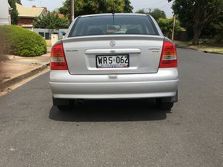 2001 Holden Astra TS CD Silver 4 Speed Automatic Hatchback