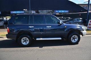 1998 Toyota Landcruiser GXL (4x4) Blue 5 Speed Manual 4x4 Wagon.