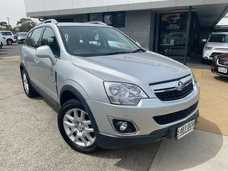 2012 Holden Captiva CG Series II MY12 5 Silver 6 Speed Manual Wagon.