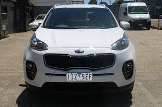 2016 Kia Sportage QL MY16 SLi(AWD) White 6 Speed Automatic Wagon.