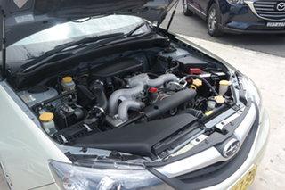 2010 Subaru Impreza G3 MY10 R AWD Gold 5 Speed Manual Hatchback