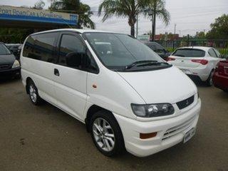 2000 Mitsubishi Starwagon WA GL White Automatic Wagon.
