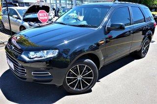 2011 Ford Territory SZ TS Seq Sport Shift Black 6 Speed Sports Automatic Wagon.