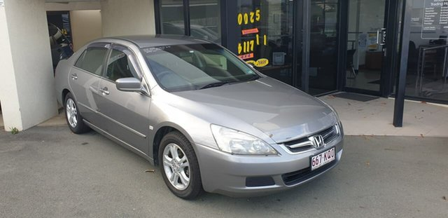 Used Honda Accord 7th Gen MY07 VTi Mount Gravatt, 2007 Honda Accord 7th Gen MY07 VTi Silver 5 Speed Automatic Sedan