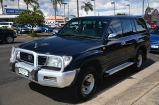 1998 Toyota Landcruiser GXL (4x4) Blue 5 Speed Manual 4x4 Wagon