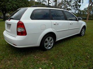 2008 Holden Viva JF MY09 White 5 Speed Manual Wagon