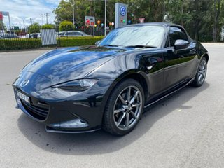 2016 Mazda MX-5 ND GT SKYACTIV-MT Black 6 Speed Manual Roadster.